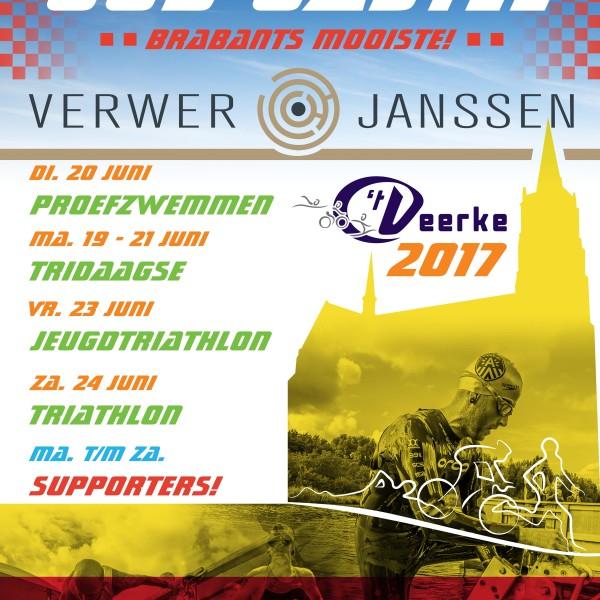 Uitslagen 33e Verwer en Janssen West Brabant Triathlon | Oud Gastel | 24-06-2017